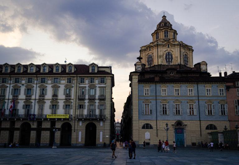 Rue à Turin